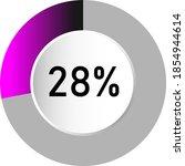 28  circle percentage diagrams  ...