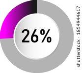 26  circle percentage diagrams  ...
