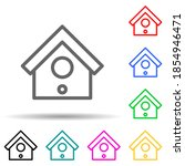 birdhouse multi color style...
