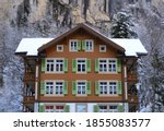 Wes Anderson Style Chalet In...