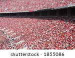 packed stands | Shutterstock . vector #1855086