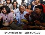 bangkok   april 3 2014  leader... | Shutterstock . vector #185509139