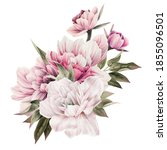 bouquet of flowers  can be used ... | Shutterstock . vector #1855096501