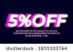 5  Off Five Percent Sale Bright ...