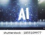 abstract virtual artificial...