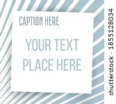 paper square sticker on... | Shutterstock .eps vector #1855128034