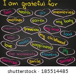 I am grateful for