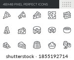 set of vector line icons... | Shutterstock .eps vector #1855192714