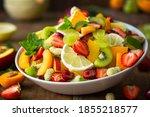 Healthy Fresh Fruit Salad In...