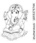 God Ganesha Is An Elephant With ...