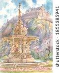 The Ross Fountain And Edinburgh ...