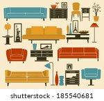 1950s,década de 1960,década de 1970,acessórios,poltrona,tigelas,armários,cadeiras,cômoda,cadeira de clube,sofá,cadeira de jantar,sala de jantar,lâmpada de assoalho,acessórios para casa