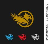 Golden Eagle With Black...