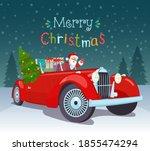 merry christmas stylized... | Shutterstock .eps vector #1855474294