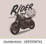 typography slogan with vintage...   Shutterstock .eps vector #1855558741