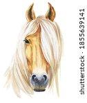 Horse Head Watercolor...