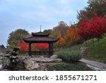 Chinese Gazebo In The Autumn...