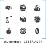 pastry icon set and cookie with ...