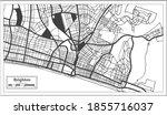 brighton great britain city map ...   Shutterstock .eps vector #1855716037