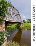 first steel arch bridge in... | Shutterstock . vector #185572064