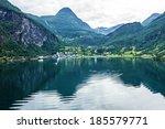 Mountain Landscape  Geiranger...
