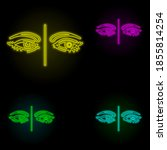 eyes  contact lens neon color...