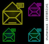 envelope  comment  mail icon...