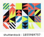 modern artwork of abstract... | Shutterstock .eps vector #1855989757