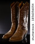 A Pair Of Leather Cowboy Boots...