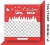 editable square banner design... | Shutterstock .eps vector #1856137861