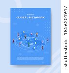 business global network people... | Shutterstock .eps vector #1856204947