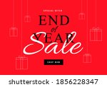 End Of Year Sale Poster Or...