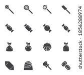 sweets vector icons set  modern ...   Shutterstock .eps vector #1856288974