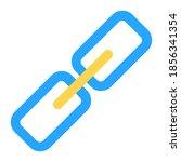 hyperlink icon vector...