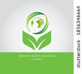national pollution control day  ... | Shutterstock .eps vector #1856346664