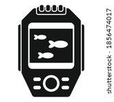 display echo sounder icon....