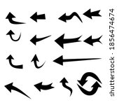 arrows vector  black arrow sign ...   Shutterstock .eps vector #1856474674