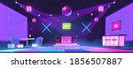 nightclub with bar counter ... | Shutterstock .eps vector #1856507887