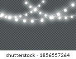 set of golden christmas glowing ... | Shutterstock .eps vector #1856557264