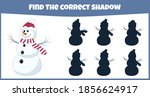find the correct shadow.... | Shutterstock .eps vector #1856624917
