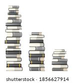 stacks of books  vector... | Shutterstock .eps vector #1856627914