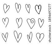 vector illustration hand drawn... | Shutterstock .eps vector #1856697277