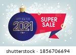 new 2021 year. super sale....   Shutterstock .eps vector #1856706694