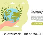 concept of ecological... | Shutterstock .eps vector #1856775634