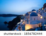 Traditional Greek Village Oia...