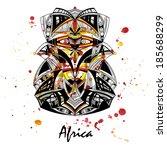 cría,bosquimanos,colorido,artesanía,creativa,decoraciones,características,imagen,motivo,nacionalidad,nativo,tradición,vudú,acuarela,zulú