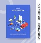 business news media peopleon... | Shutterstock .eps vector #1856889577