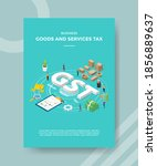 business goods and services tax ...   Shutterstock .eps vector #1856889637