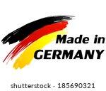 vector illustration of made in... | Shutterstock .eps vector #185690321