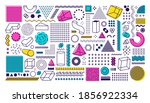 big set of geometric shapes in...   Shutterstock .eps vector #1856922334